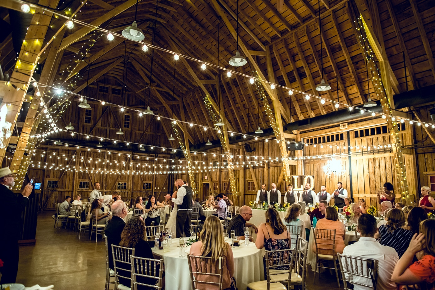 Windmill Winery Wedding Venue Reception
