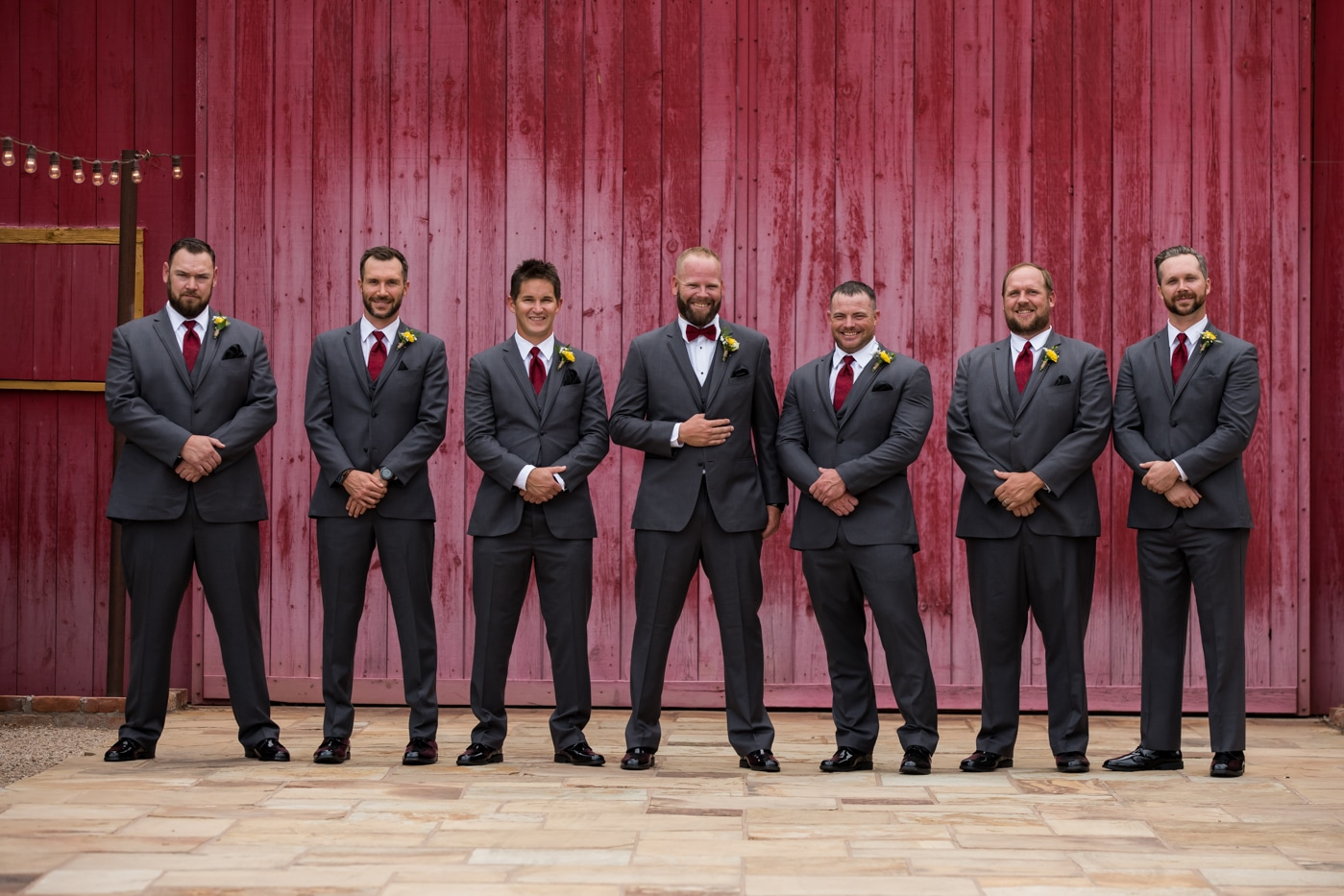 Groomsmen Photos at Windmill Winery 9-1-19