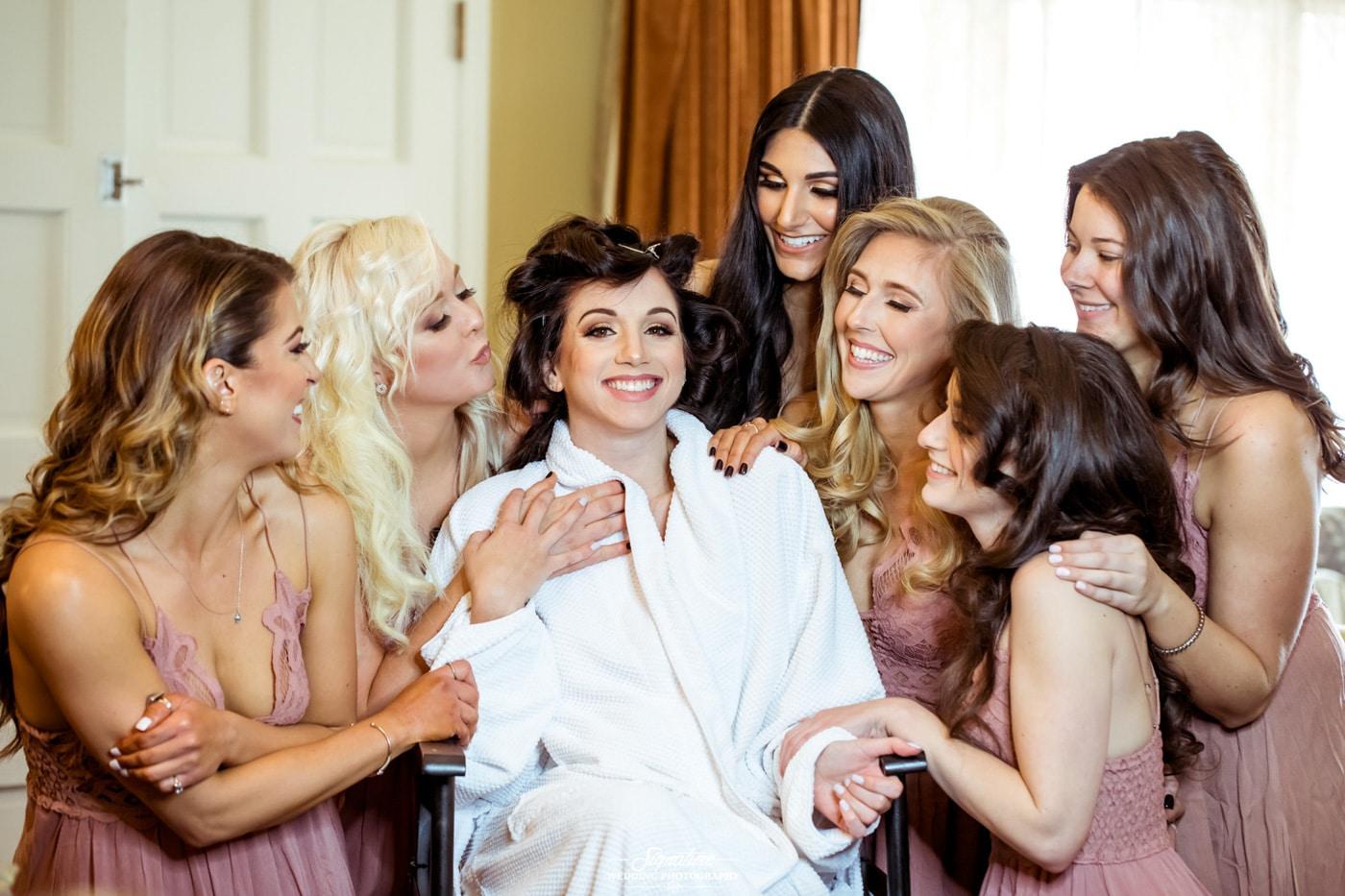 bride and bridesmaid photography 32