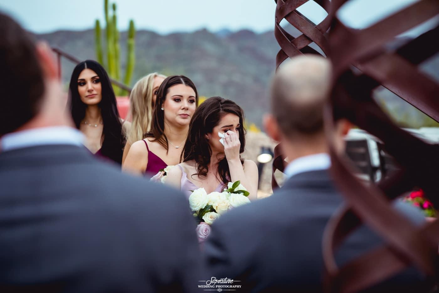 bride and bridesmaid photography 12
