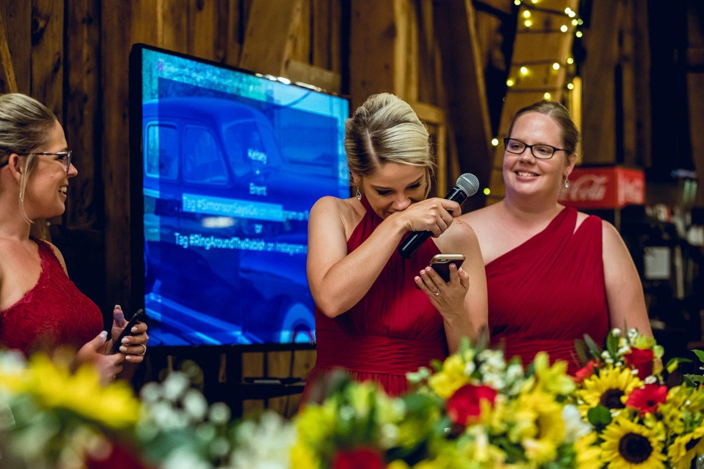bride and bridesmaid photography 20