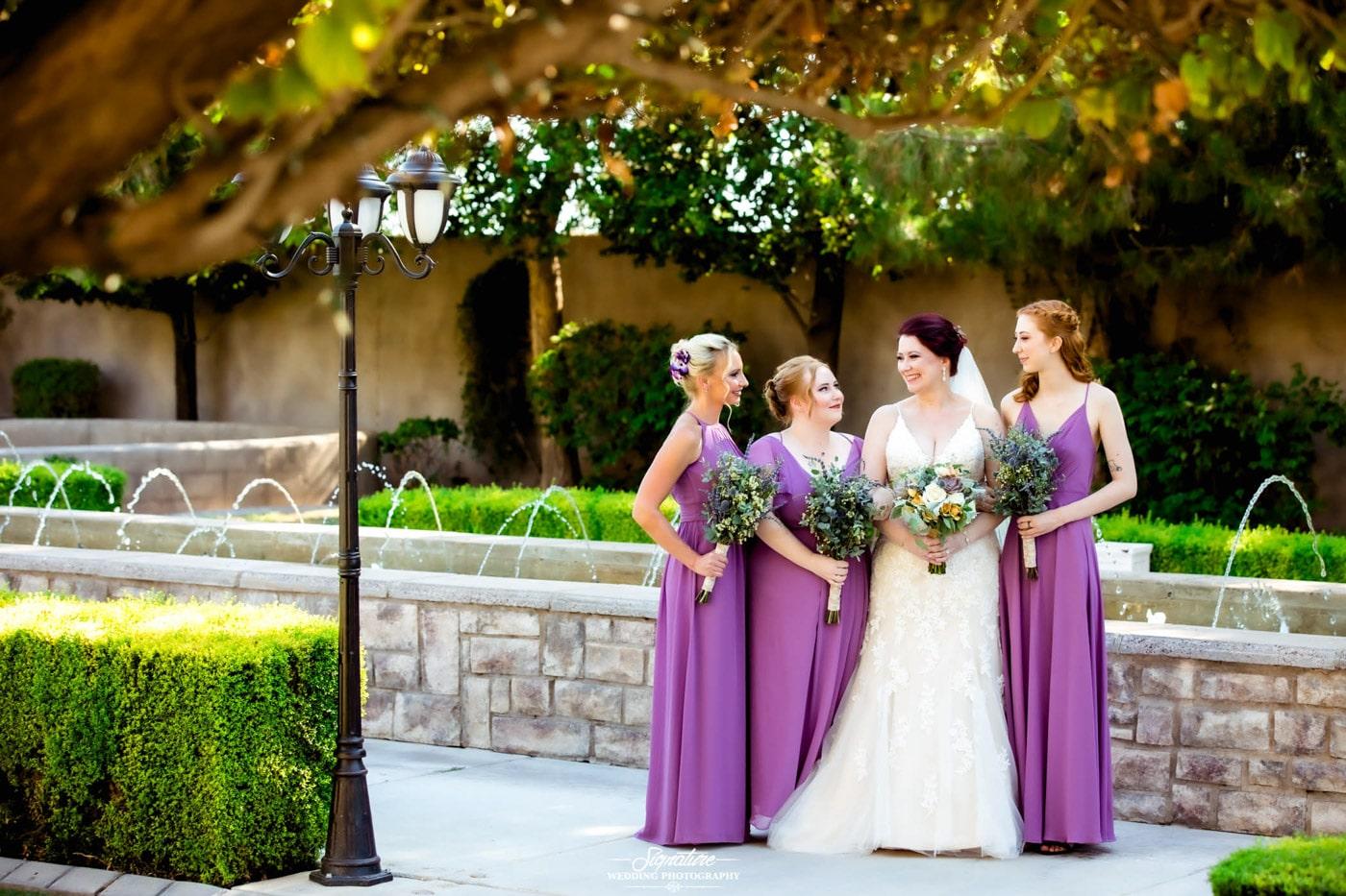bride and bridesmaid photography 21