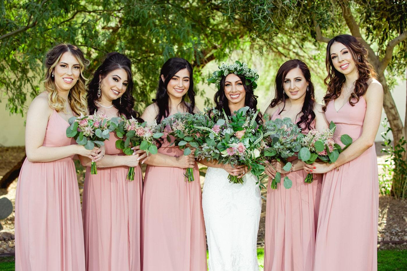 bride and bridesmaid photography 24